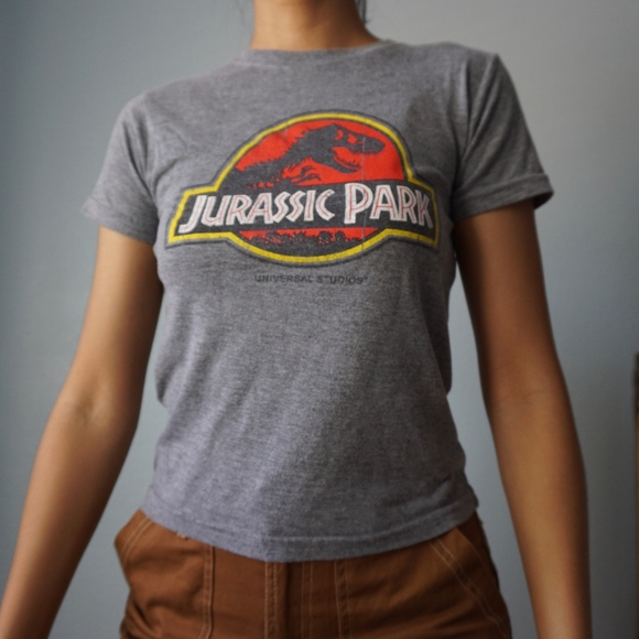 Universal Studios Other - Jurassic Park Graphic Logo Youth M T Shirt